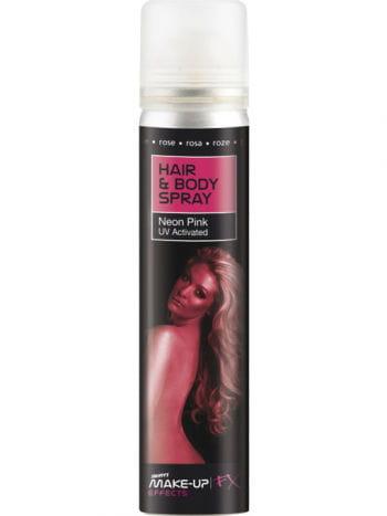 Haar und Körper Spray UV pink