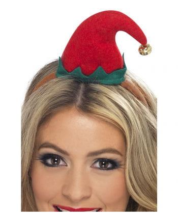 Haarreif mit Mini Elf Hütchen