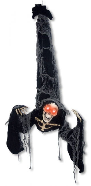 Hängender Skelett Sensenmann