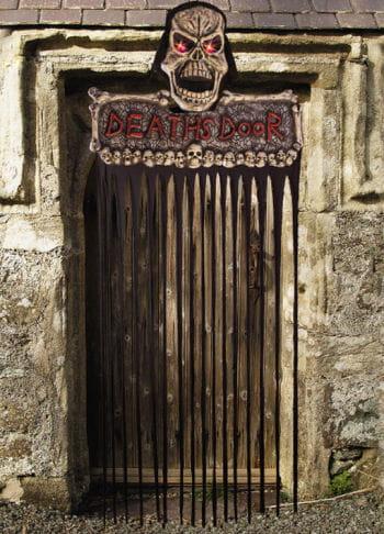 Halloween Deaths Door Sign LED