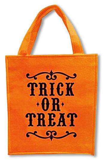 Halloween Filztasche orange
