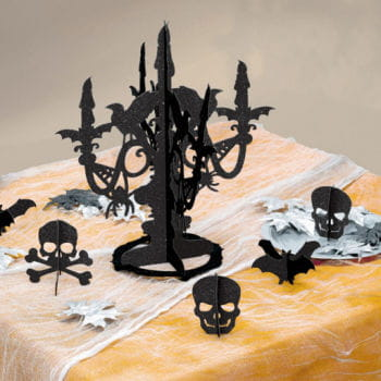 Halloween Glitter Table Decoration 6PCS