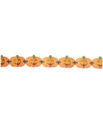 Halloween Kürbis Girlande 4 m