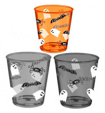 Halloween Plastic Cup Orange