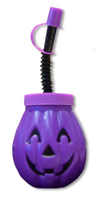 Pumpkin Mug Purple