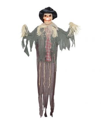 Halloween Vogelscheuche mit LED Strobo 160 cm