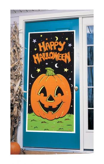 Happy Halloween Pumpkin Door film