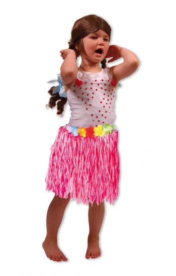 Hawaii Children's Skirt Pink