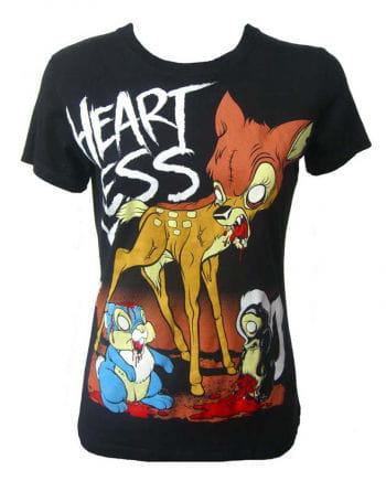 Heartless T-shirt Zombie Bambi