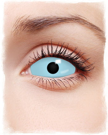 Sclera Kontaktlinsen hellblau