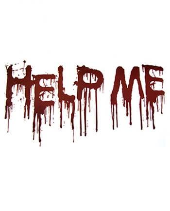 Help Me Dekofolie