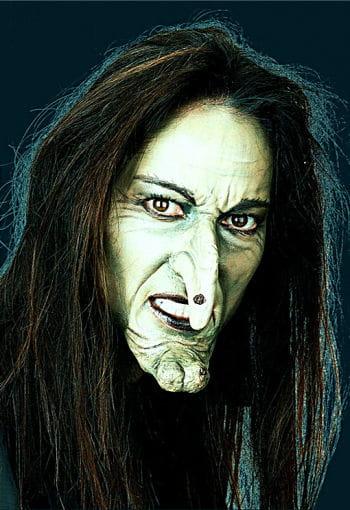 Hexen Gesicht Latexapplikation