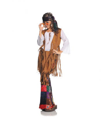 Hippie Woodstock Costume Small