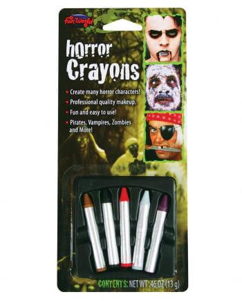 Horror Make-up Pencils 5 Pcs