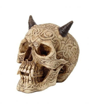 Celtic devil skull