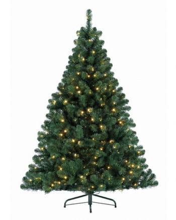 Festive Christmas tree with fairy lights 180 cm
