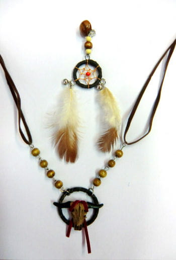 Indian Necklace with Earrings
