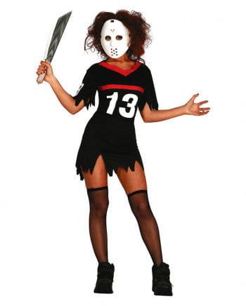 Hockey ladies costume with mask