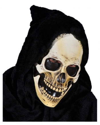 Hooded Skeleton Mask