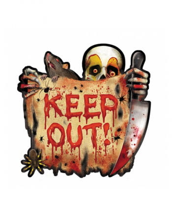 KEEP OUT free trailer