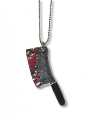 Necklace with pendant ax