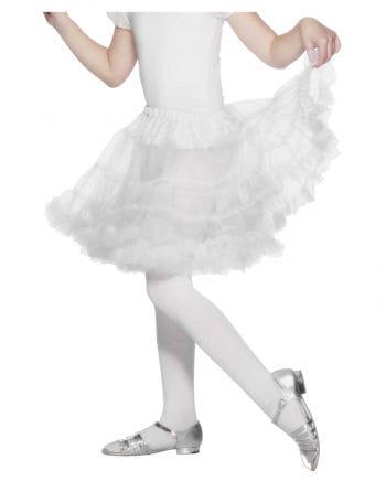 Kinder Pettitcoat Weiß