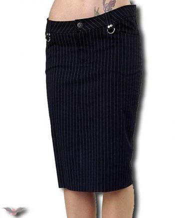 knee-length pinstripe skirt Gr.30