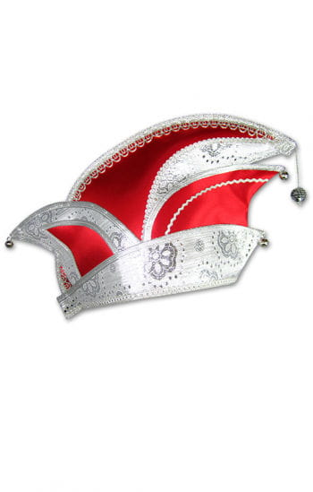 Carnival Commitee Hat Red/Silver
