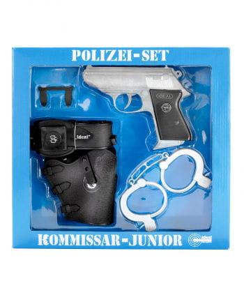 Kommissar Polizei Set Junior 13-Schuss