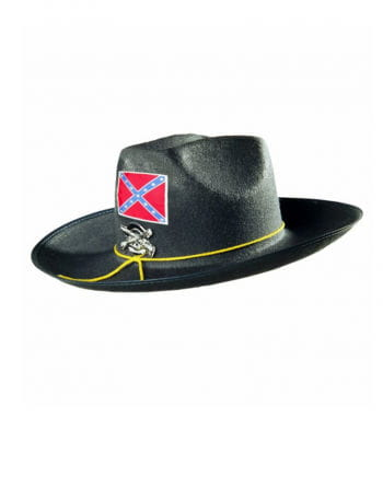 Confederate officer hat