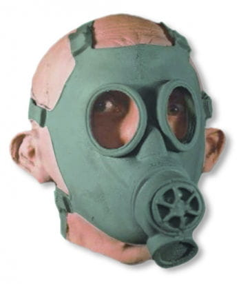 War Mask with Breathing Protection