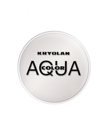Kryolan Aquacolor weiß 15 ml