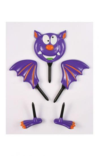 Pumpkin bat figure