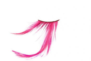 Feather Eyelashes Pink
