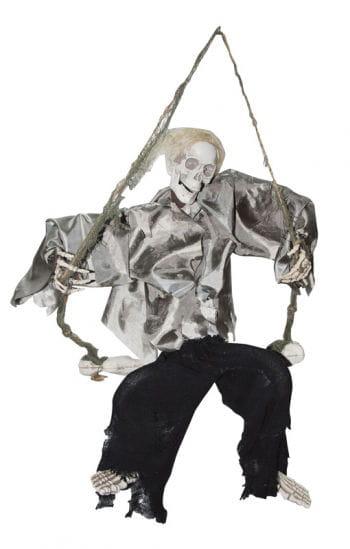Laughing Skeleton on the swing