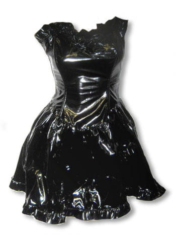 Lacquered Dress With Bow