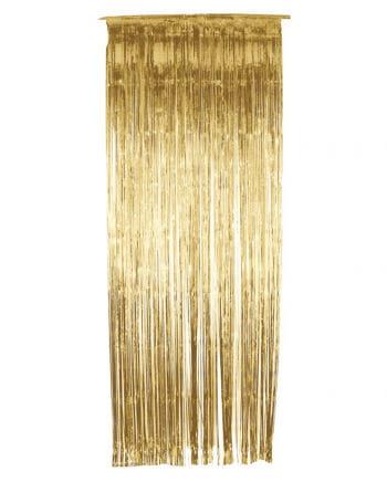Tinsel curtain Gold