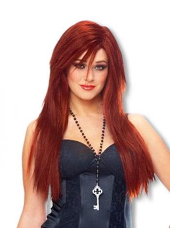Long Hair Wig Copper
