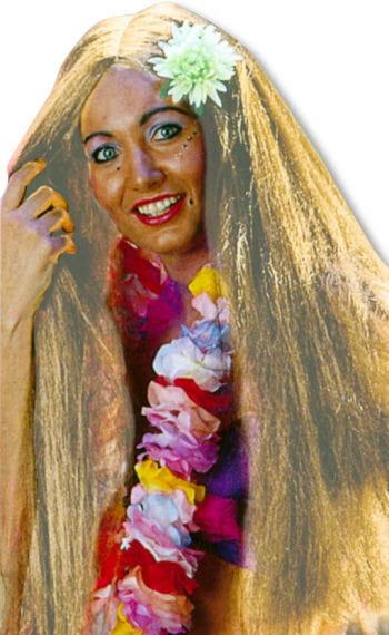 Long-Hair Wig Hawaii