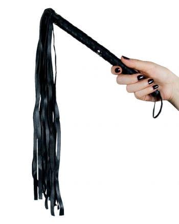 Leder Peitsche schwarz