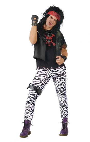 Leggings im Zebra Look