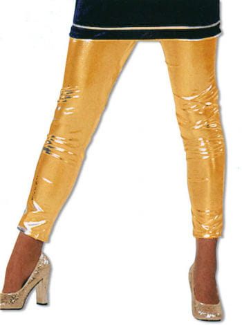 Shiny Gold Leggings M / 38