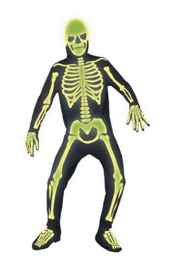 Leuchtender Skelett Jumpsuit