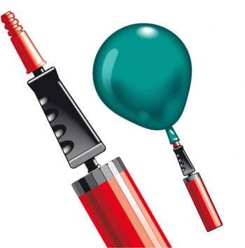 Luftballon zwei Wege Pumpe