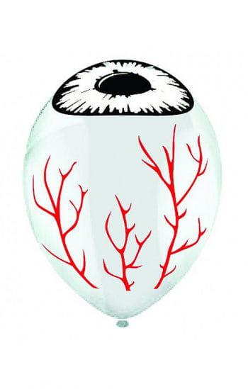Balloons with eyeball motif