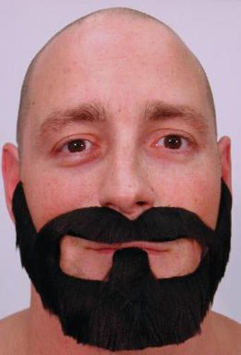 Macho beard black