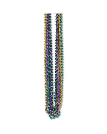 Mardi Gras Beads Small 12 PCS