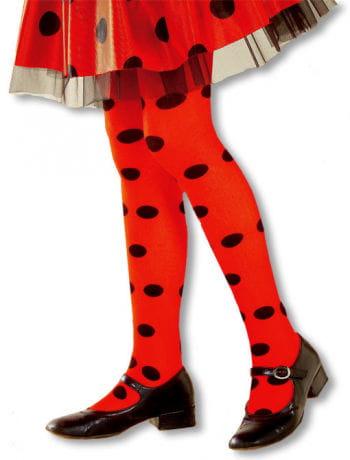 Ladybug Child Pantyhose L