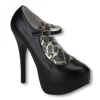 Mary Jane Pumps matt 36 UK 5 US 7