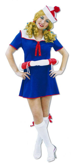 Sailor Girl Dress with Lifesaver S/M 36-38